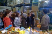 Volunteering at a Food Bank